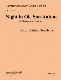 Night in Ole San Antone Cover Color